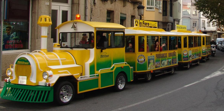 las calles principales de O Grove