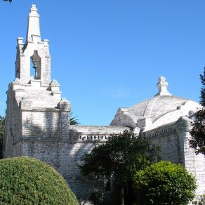 capilla de conchas La Toja