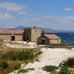 Castillo de la Isla de Sálvora